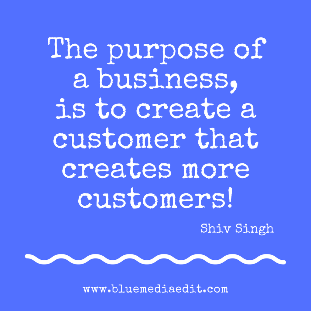 Shiv Singh Customers who create more customers