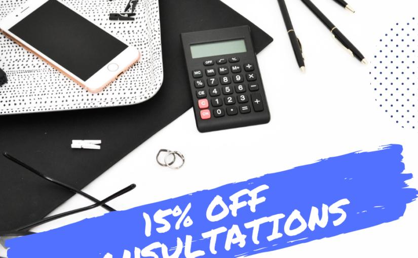Social Media Consultation – 15% Off